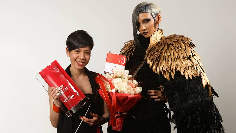 Color Award_People's Choice_ Seraphina Foo Fang Hsia_ JasonSally Hairdressers_SINGAPORE
