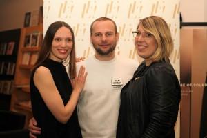 1 Organizátori Fashion LIVE! - Kreatívna riaditeľka Olo Křížová, Supervízor podujatia Marcel Holubec, Manažérka projektu Zora Husarčíková