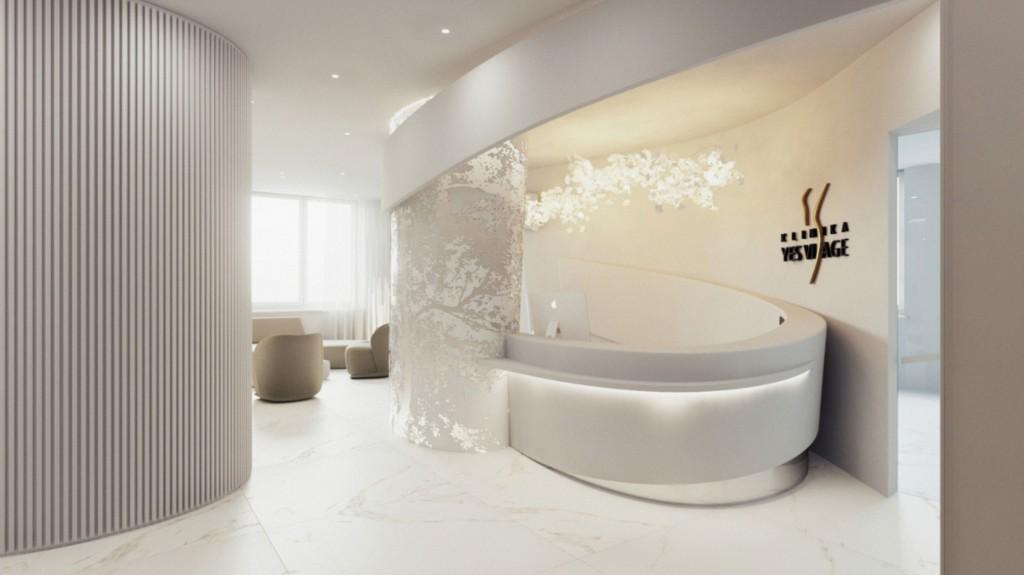 Foto 1 Nové priestory Kliniky YES VISAGE v Bratislave v komplexe Bezručova residence