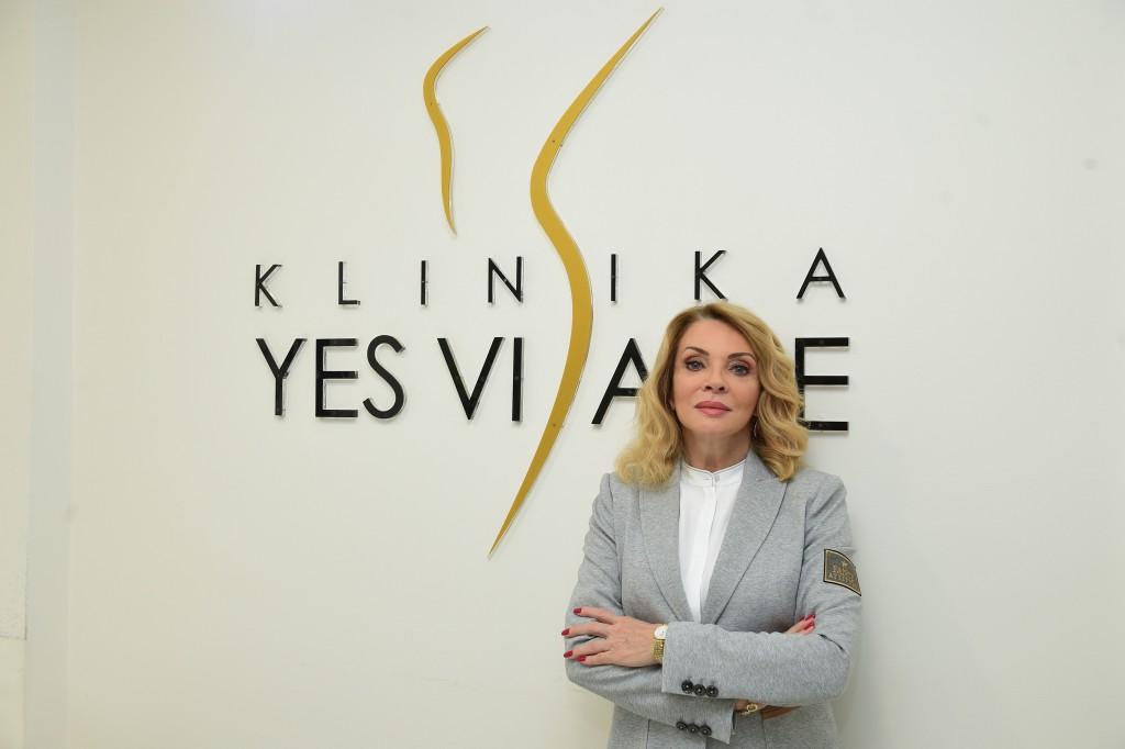 Foto 6 Kliniku Yes Visage pravidelne navštevuje aj herečka Zdena Studenková