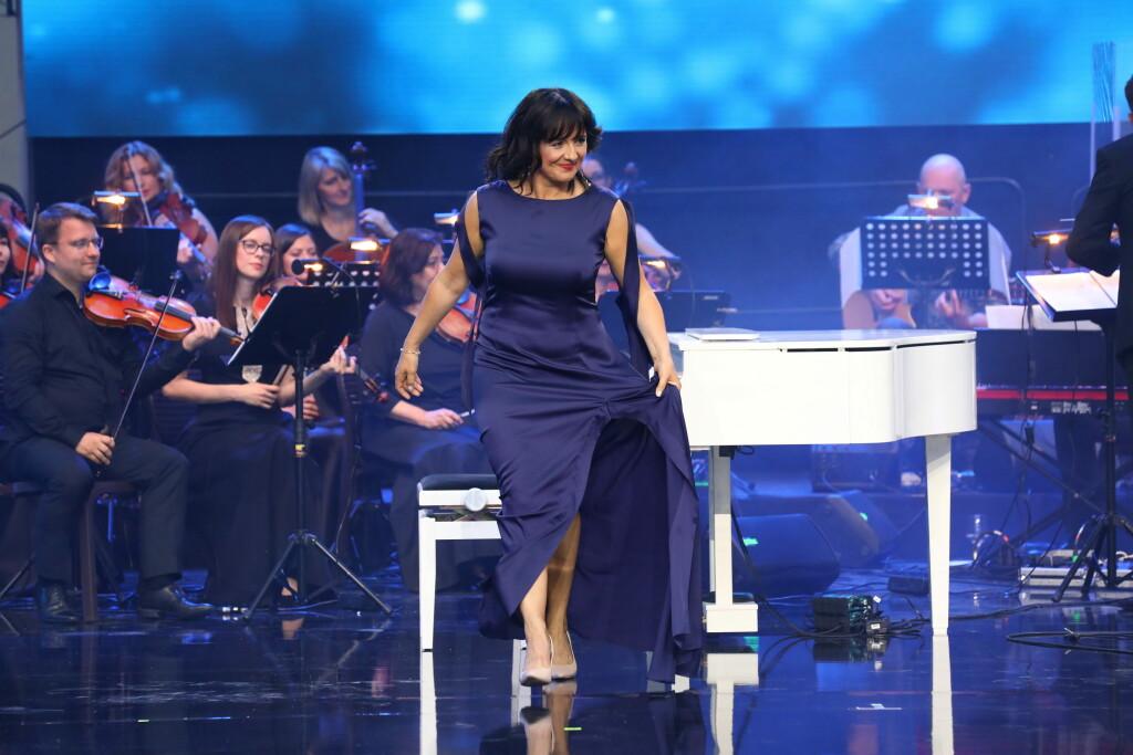 Ľubica Čekovská po jej hudobnom vystúpení