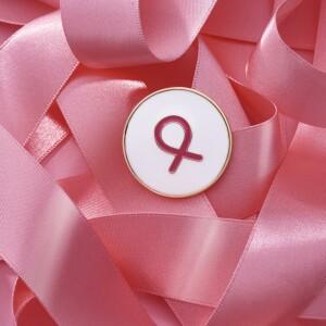 Glazúrovaný symbol za zdravé prsia 1